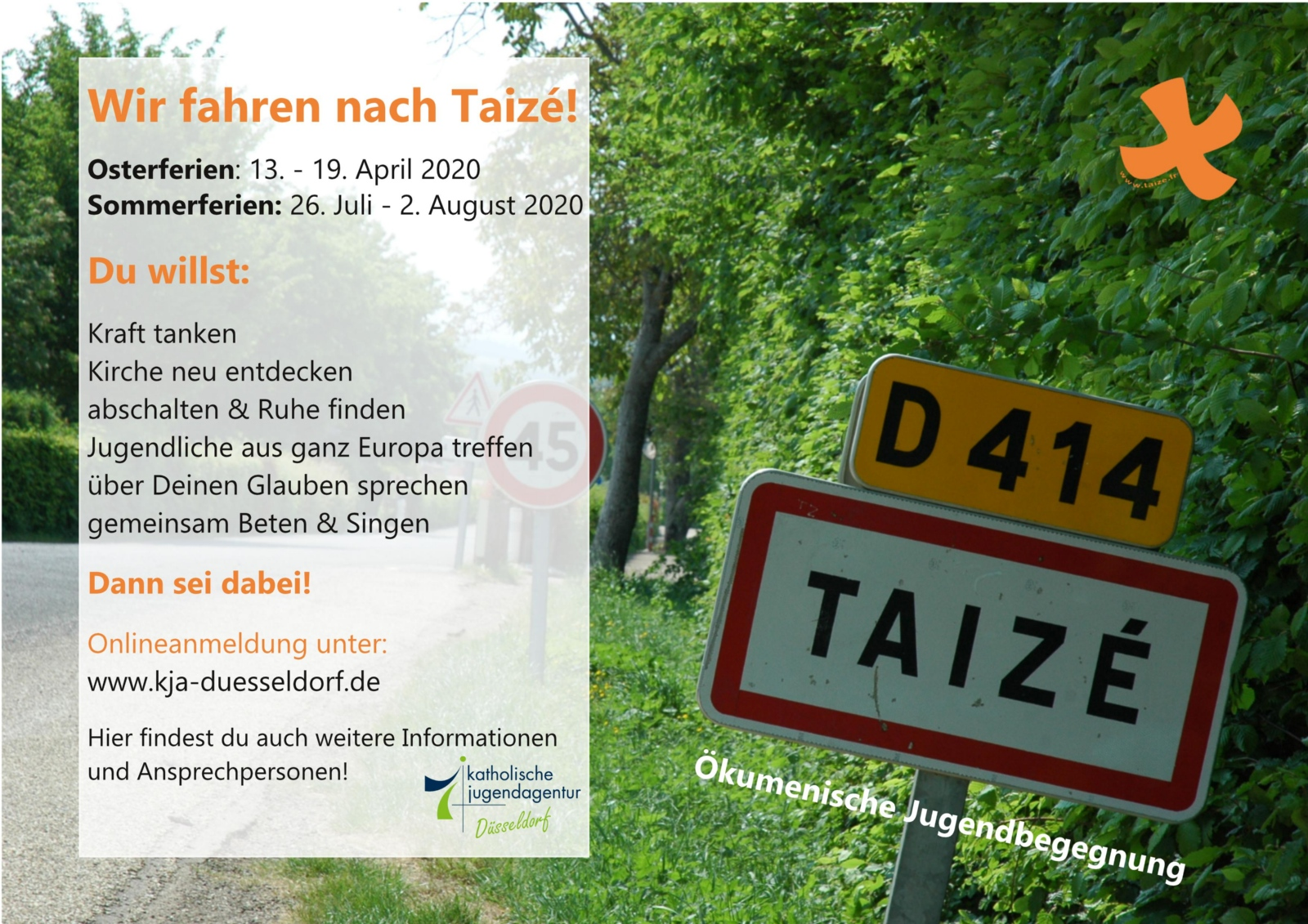 Taizé-Flyer'20